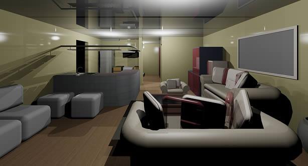 imagen Vivienda interiores 3d, en Vivienda unifamiliar 3d - Proyectos