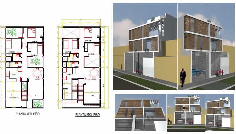 Planos de casas planos de construccion - Planos de viviendas unifamiliares ...