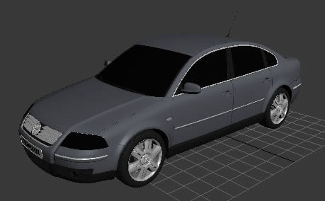 imagen Wolkswagen passat 3d v - ray, en Automóviles en 3d - Medios de transporte