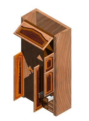 Planos de – guarda ropa 3d, en Estanterías y modulares – Muebles equipamiento