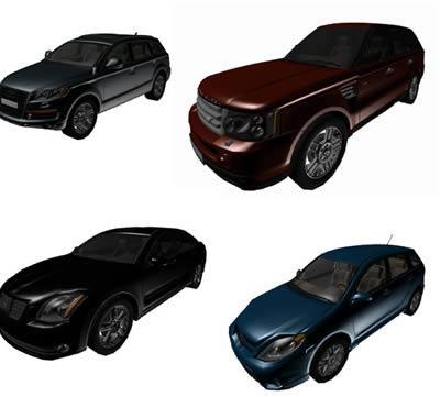 imagen 15 autos en formato 3ds, en Automóviles en 3d - Medios de transporte