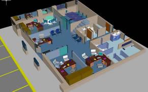 Planos de 1er nivel oficinas, en Oficinas bancos y administración – Proyectos