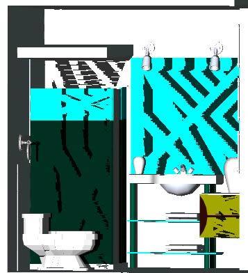 imagen 3d baño, en Baños - Sanitarios