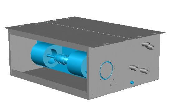 Planos de 3d bobina de ventilador, en Aire acondicionado – Climatización