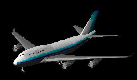 Planos de 3d boeing 747 – 400, en Aeronaves en 3d – Medios de transporte