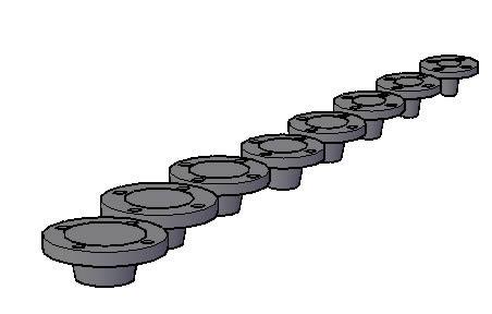 Planos de 3d bridas, en Válvulas tubos y piezas – Máquinas instalaciones