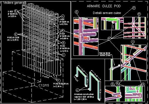 Planos de 3d bridge, en Puentes – Obras viales – diques