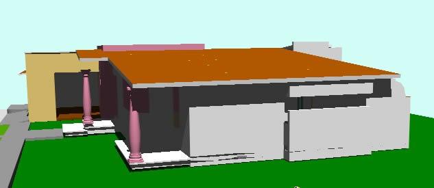 imagen 3d caasa habitacion, en Vivienda unifamiliar 3d - Proyectos