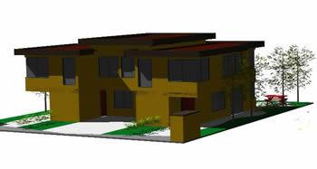 Planos de 3d casa, en Vivienda unifamiliar 3d – Proyectos
