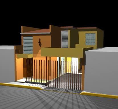 Planos de 3d casa hab, en Vivienda unifamiliar 3d – Proyectos