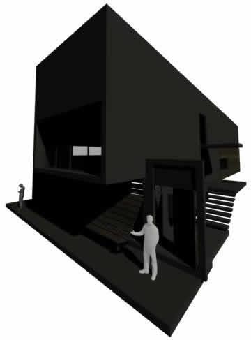 imagen 3d casa nabis, en Vivienda unifamiliar 3d - Proyectos