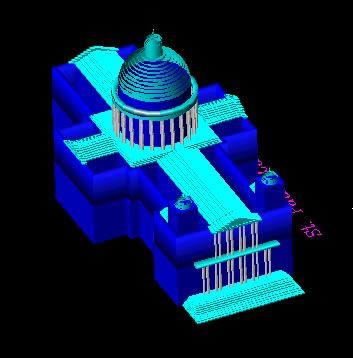 Planos de 3d catedral st pauls, en Iglesias y templos – Historia