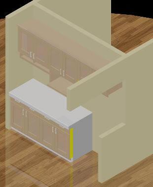 Planos de 3d cocina, en Cocinas – Muebles equipamiento
