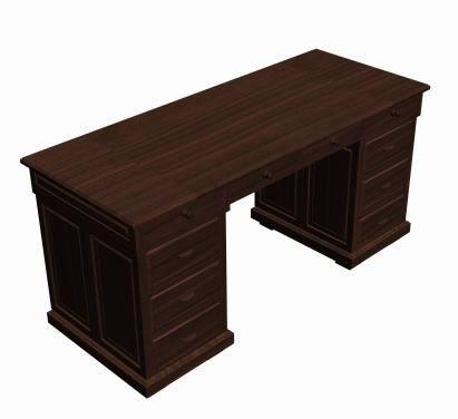 imagen 3d desk, en Escritorios - Muebles equipamiento