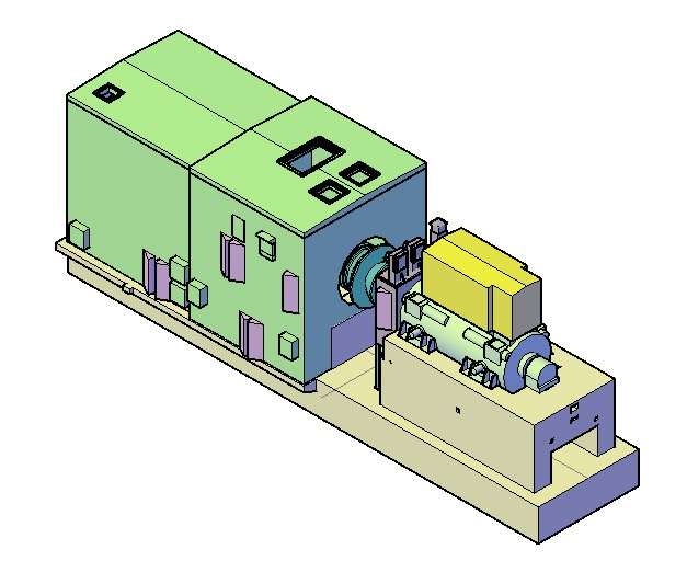 3d generador, en Maquinaria e instalaciones industriales – Máquinas instalaciones
