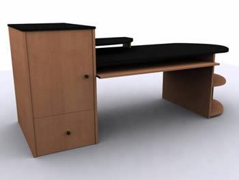 3d mesa de computadora, en Oficinas y laboratorios – Muebles equipamiento