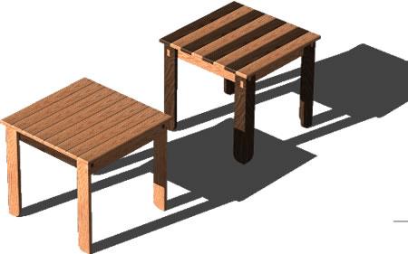 Planos de 3d-mesas, en Mesas y juegos de comedor 3d – Muebles equipamiento