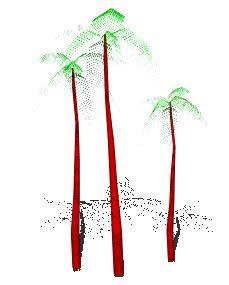 Planos de 3d palma, en Arboles en 3d – Arboles y plantas