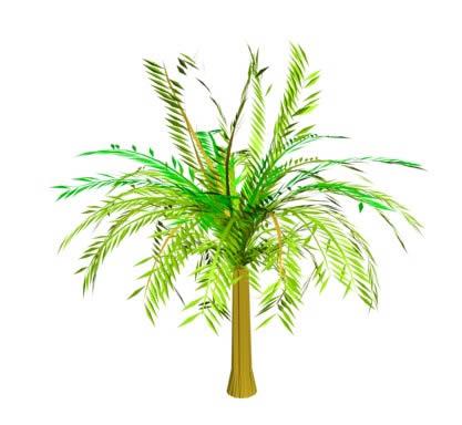 imagen 3ds palmera, en Palmeras en 3d - Arboles y plantas