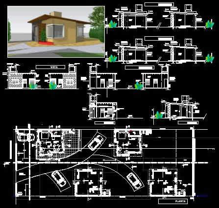 imagen 4 casas monoambientes de veraneo, en Turismo y recreación - Proyectos
