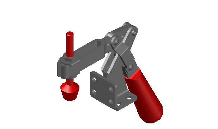 Planos de Abrazadera clamp 1, en Maquinaria e instalaciones industriales – Máquinas instalaciones