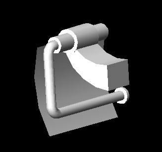 imagen Accesorios de baño cromados 3d, en Artefactos - Sanitarios