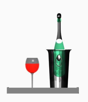 Accesorios de bar 3d, en Bares y restaurants – Muebles equipamiento