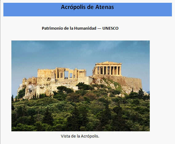 Acropolis de atenas, en Monografías guías y estudios varios – Varios