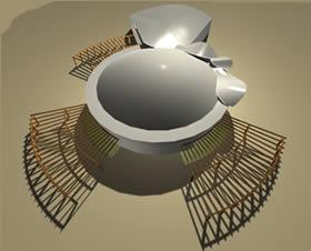 imagen Acuario - exterior, en Centros y parques recreativos - Proyectos
