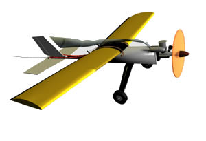 Aeroplano, en Aeronaves en 3d – Medios de transporte