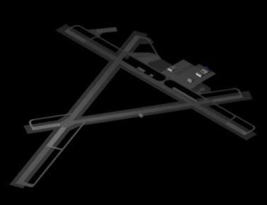 Planos de Aeropuerto 3d, en Aeropuertos – Proyectos