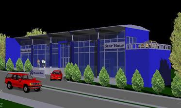 Planos de Agencia automotriz, en Centros comerciales supermercados y tiendas – Proyectos