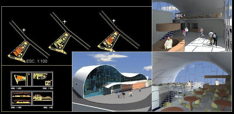 Planos de Almacen de bicicletas, en Comercios varios – Proyectos
