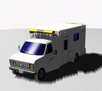 Ambulancia ford ecoline, en Utilitarios – Medios de transporte