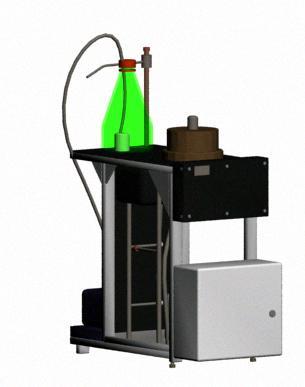 Analizador de fluidos, en Oficinas y laboratorios – Muebles equipamiento