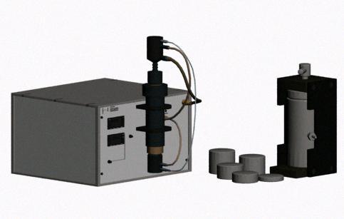 Analizador quimico 3d, en Oficinas y laboratorios – Muebles equipamiento