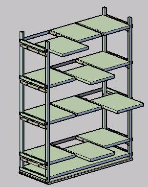 Planos de Anaquel, en Educación – Muebles equipamiento