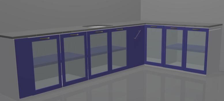 imagen Anaqueles bajos, en Cocinas - Muebles equipamiento