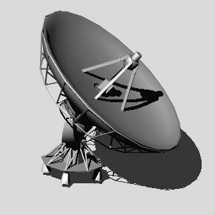 Planos de Antena parabolica 3d, en Comunicaciones y telefonía – Instalaciones