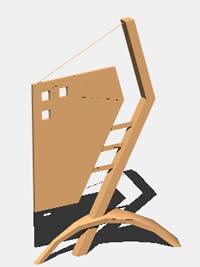 Planos de Anuncio metalico para aceras, en Cartelería y publicidad – Equipamiento urbano