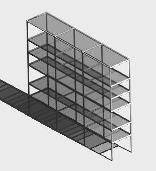 Planos de Aparador 3d, en Estanterías y modulares – Muebles equipamiento