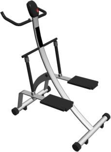 imagen Aparato de gimnasia 3d, en Equipamiento gimnasios - Deportes y recreación