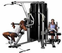 Aparato gym, en Equipamiento gimnasios – Deportes y recreación