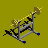 Planos de Aparatos de gimnasia, en Equipamiento gimnasios – Deportes y recreación