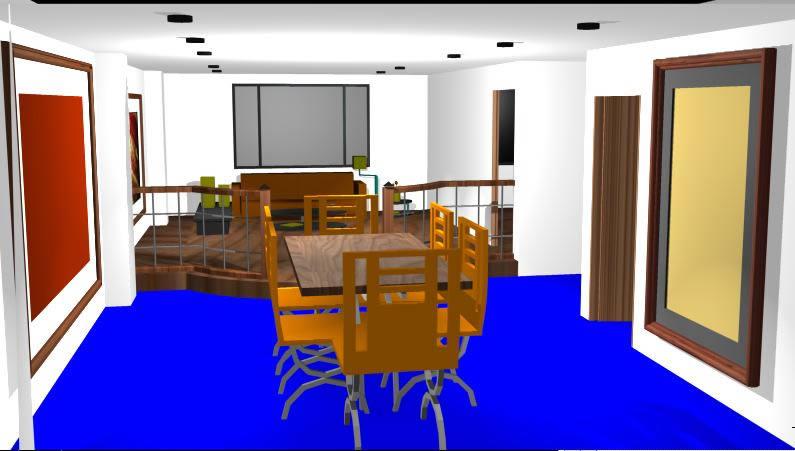 Planos de Apartamento en 3d, en Vivienda unifamiliar 3d – Proyectos