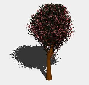Planos de Arbol en 3d 005, en Arboles en 3d – Arboles y plantas
