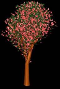 imagen Arbol en 3d 005, en Arboles en 3d - Arboles y plantas