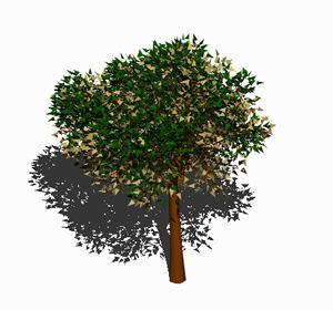 imagen Arbol en 3d 006, en Arboles en 3d - Arboles y plantas