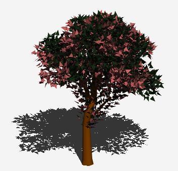 Planos de Arbol en 3d 010, en Arboles en 3d – Arboles y plantas
