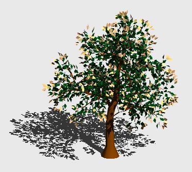 Planos de Arbol en 3d 013, en Arboles en 3d – Arboles y plantas